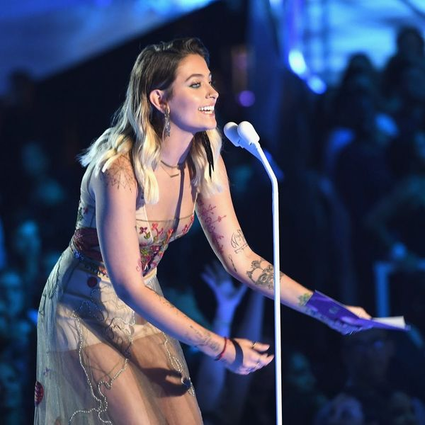 Why Paris Jackson Is Showing Off Her Leg Hair