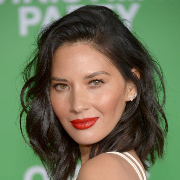Olivia Munn's Wine-Colored Lips Are Getting Us Excited for Fall Already