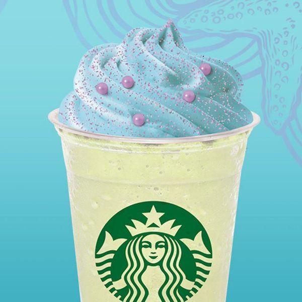 Starbucks Announces Official Mermaid Frappuccino
