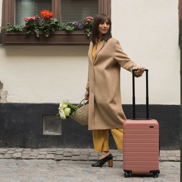 Rashida Jones Teams Up With Your Fave Suitcase Brand