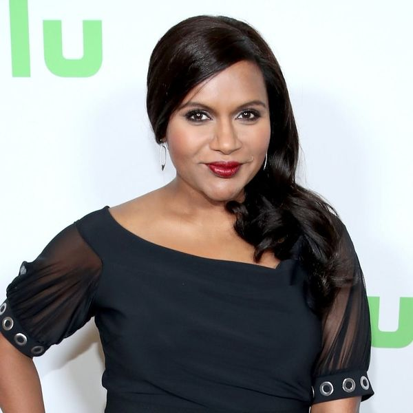 Mindy Kaling Debuts Baby Bump in Non-Maternity Maternity Wear