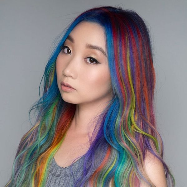 You Have to See What 34 Hair Colors Look Like on One Person