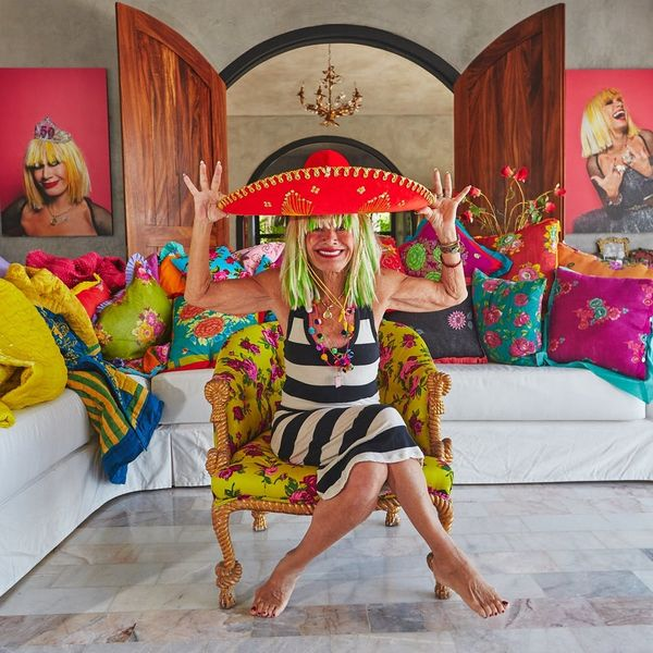Betsey Johnson's Mexican Villa Is a Wacky Color-Filled Paradise