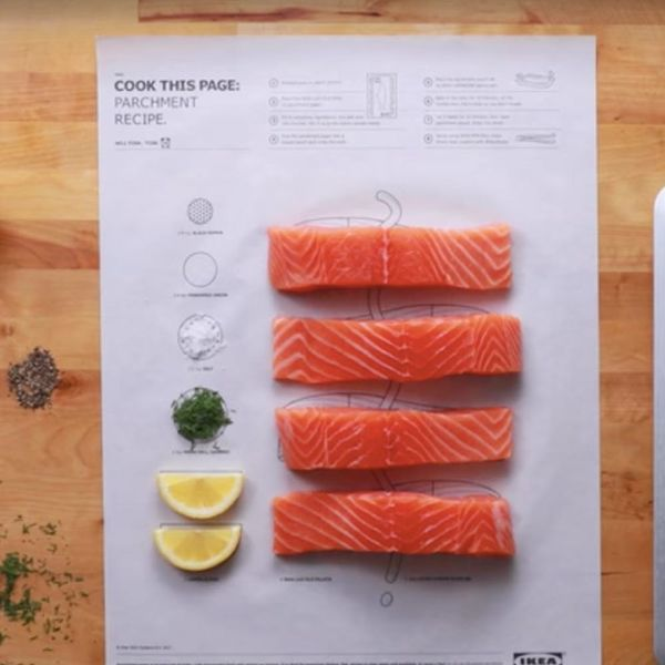 """Ikea's """"Cook This Page"""" Makes Cooking New Recipes Easier Than Ever Before"""