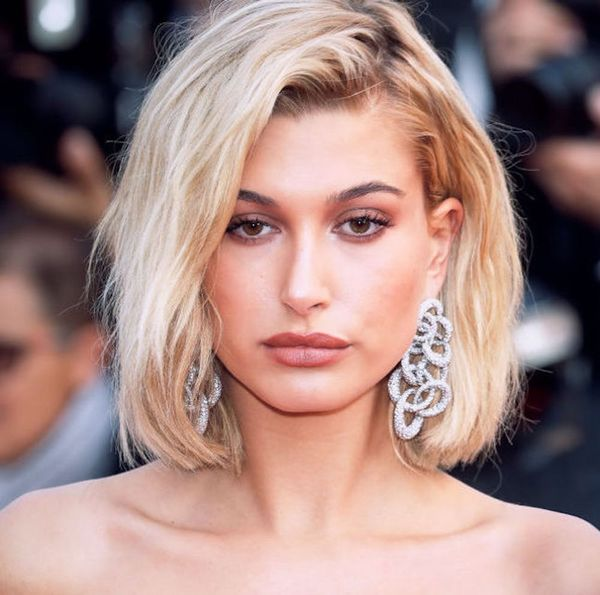 How to Copy Hailey Baldwin's Faux Bob — Straight from Her Stylist