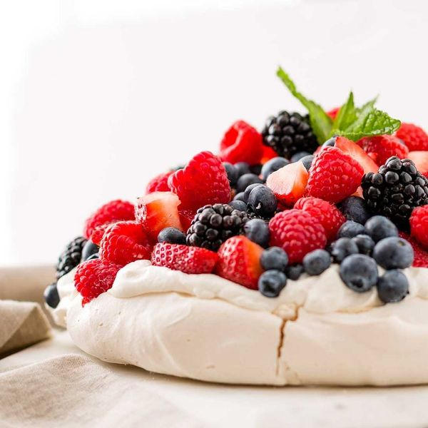 Celebrate the 4th of July With This Patriotic Pavlova Recipe