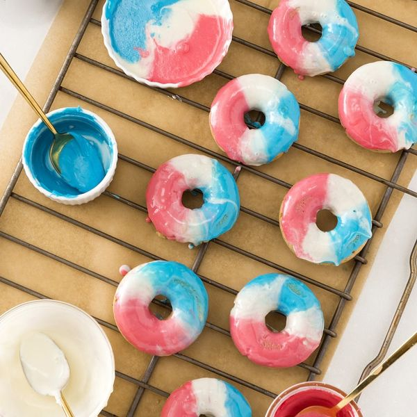 This Festive Red, White, and Blue Donut Recipe Will Get You in the Fourth of July Spirit