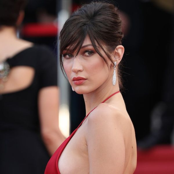 Bella Hadid's Naked Gown at Cannes Was Totally Gorgeous