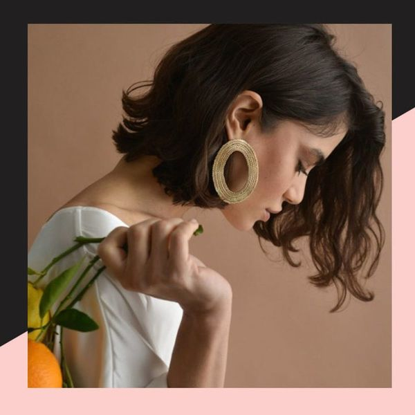 Oversized Earrings Are the Spring Accessory You Didn't Know You Needed