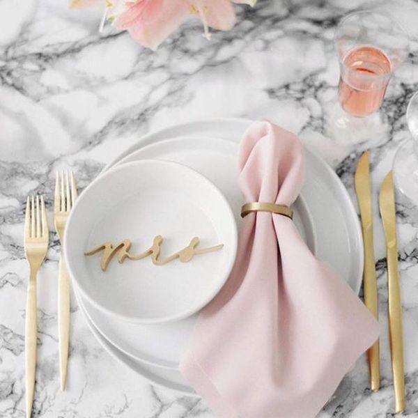 Genius Ways to Add Trendy Marble Decor to Your Wedding