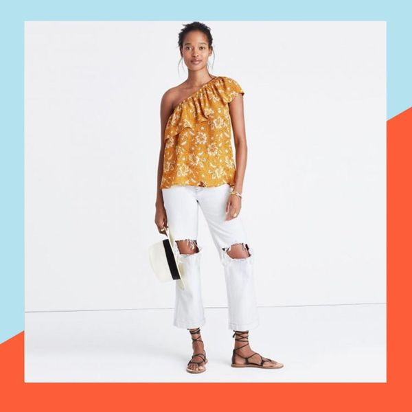 11 Pieces That Prove the One-Shoulder Fashion Trend Is Here to Stay