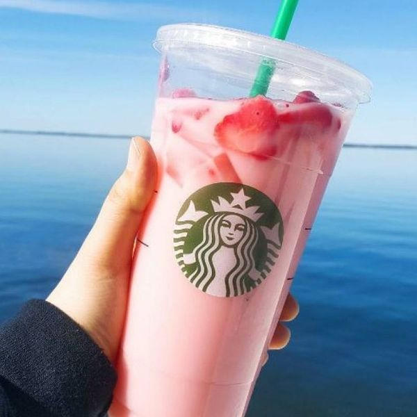 Starbucks' Instagram-Famous Pink Drink Officially Joined the Menu