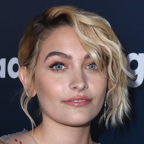 Paris Jackson Just Schooled Us All on How to Wear a Cape in a Colorful Peacock Dress