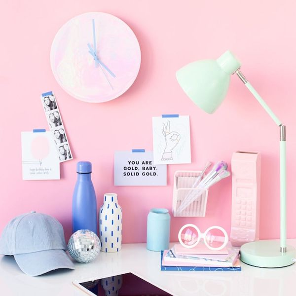 Holographic Clocks, Rainbow Letter Boards + More DIYs to Make This Weekend
