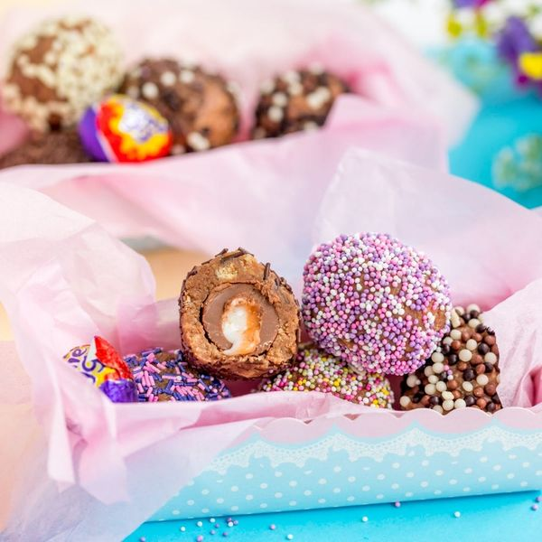 This Easter Egg Truffles Recipe Makes Creme Eggs Even BETTER!