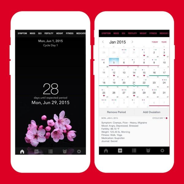 7 Menstrual Apps That'll Make Tracking Your Period a Breeze