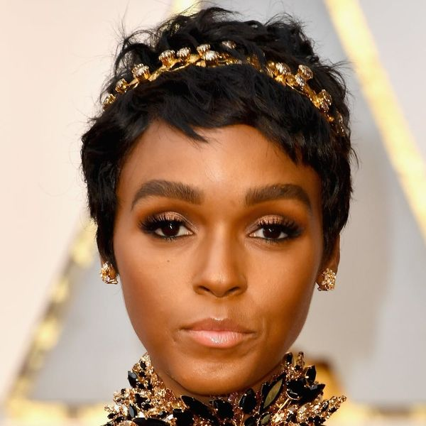 Janelle Monáe's Oscars Look Is a Modern Day Take on Halle Berry's Iconic 2002 Gown