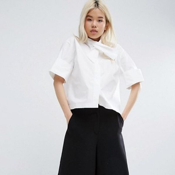 7 White Button-Downs That Are Anything But Basic for Under $100