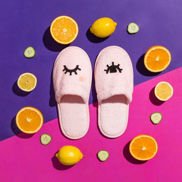 Cozy Up This Galentine's Day With These Adorable DIY Slippers