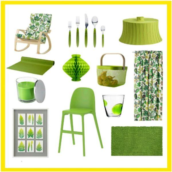 12 Ways IKEA Is *Already* Rocking the 2017 Pantone Color Greenery