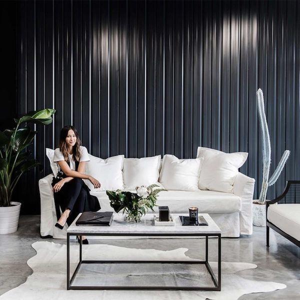 Get the Look of Beauty Blogger Eleanor Pendleton's Minimalist Office