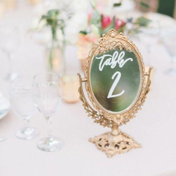 Wedding Trend Alert: 17 Ways to Use Mirror Decor on Your Big Day