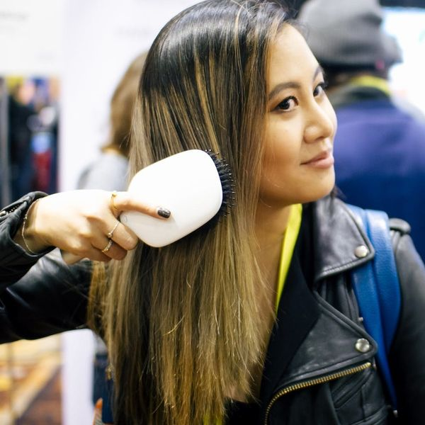 This Smart Hairbrush Can Hear Your Hair Breaking