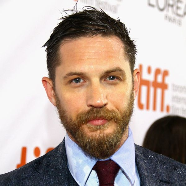 Tom Hardy Wants to Read You a Bedtime Story (With His Dog)