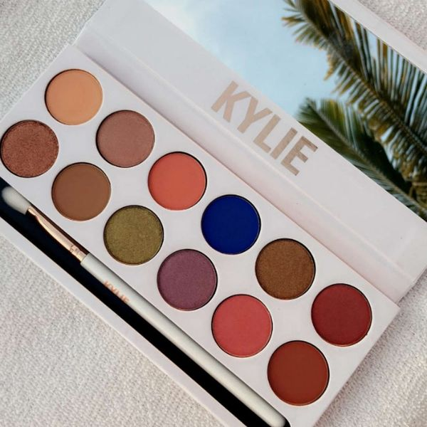 Kylie Jenner Is Teasing Her Newest Makeup Palette and It's Confusing