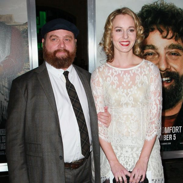 Zach Galifianakis and His Wife Just Welcomed Baby #2 and His Name Is Adorably Quirky