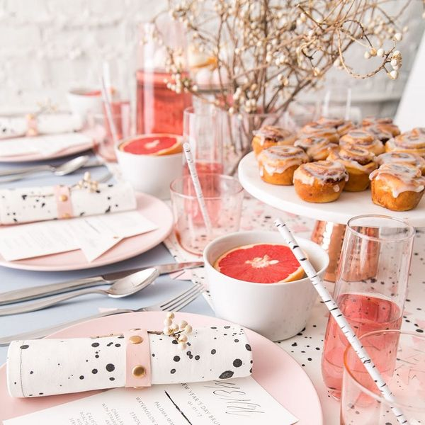 How to Throw the Most Glam New Years Brunch Ever
