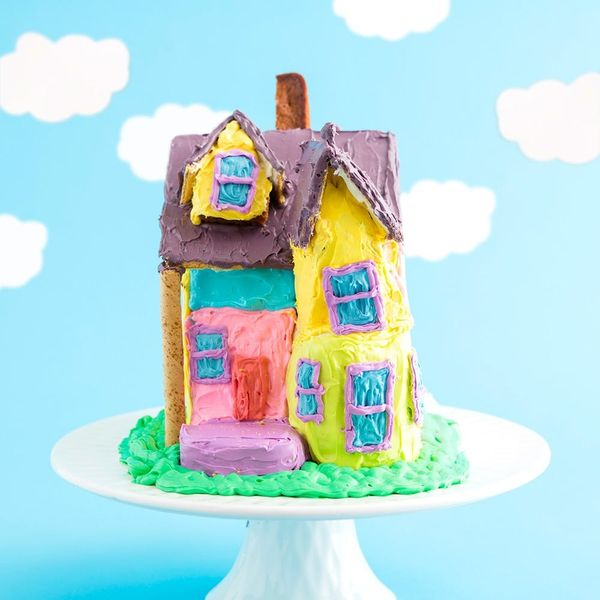 Make This Up-Inspired Gingerbread Cake House to Fulfill All Your Pixar Dreams