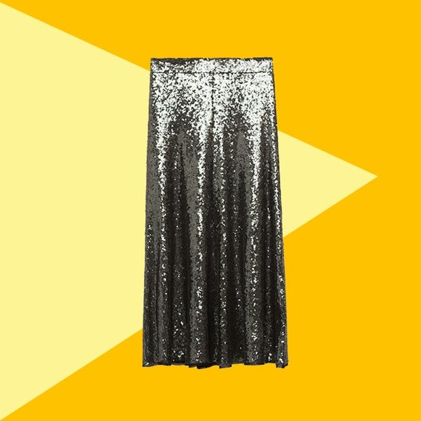 3 Chic Ways to Get the Most Out of a Sequin Skirt