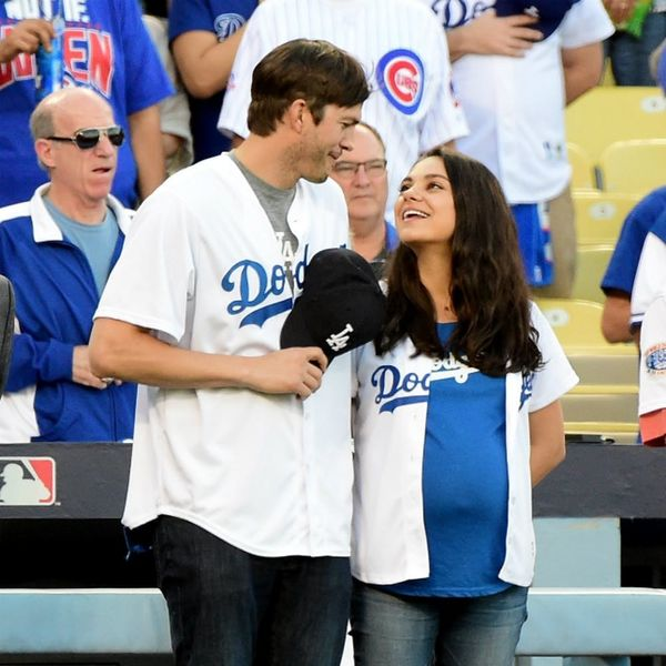 Ashton Kutcher Wants to Name His Baby After His Favorite Football Team