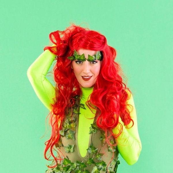 Make Like Uma Thurman and Make this Poison Ivy Costume for Halloween
