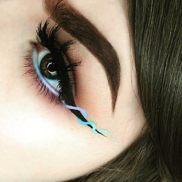 Helix Eyeliner Is the Makeup Trend You Need to See to Believe