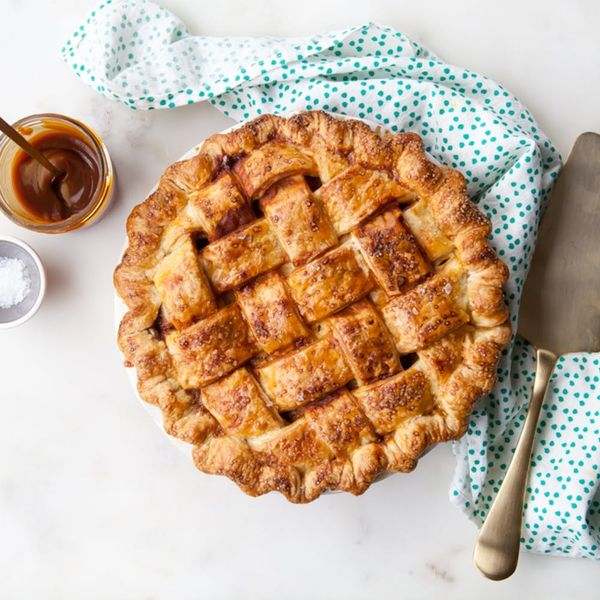 Salted Caramel Meets Apples in the Best Pie You'll Make All Season
