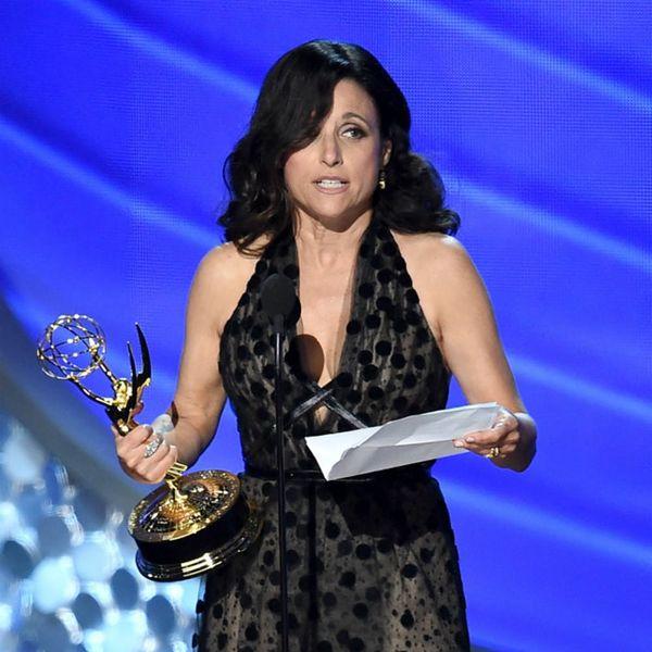 Julia Louis Dreyfus' Emmys Tribute to Her Dad Is a Tearjerker
