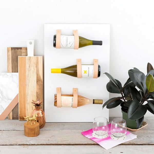 Save Space With This Effortlessly Chic Wine Rack