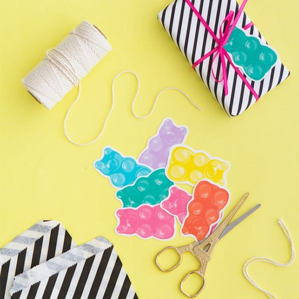 What to Make This Weekend: Printable Gummy Bears, Felt Succulents + More