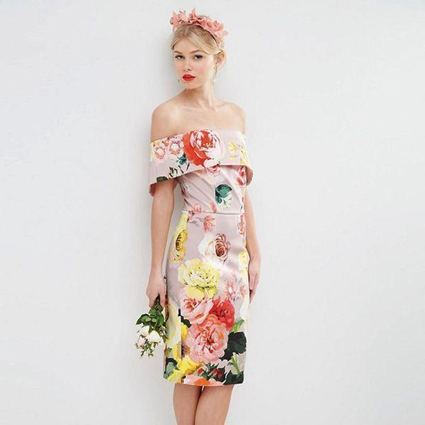 10 Mid-Length Bridesmaid Dresses Under $100