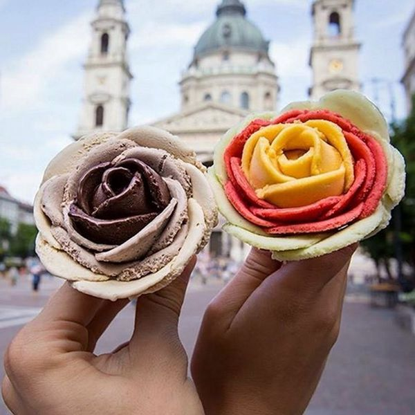 Gelato Flowers Are Here to Put Your Basic Ice Cream Cone to Shame