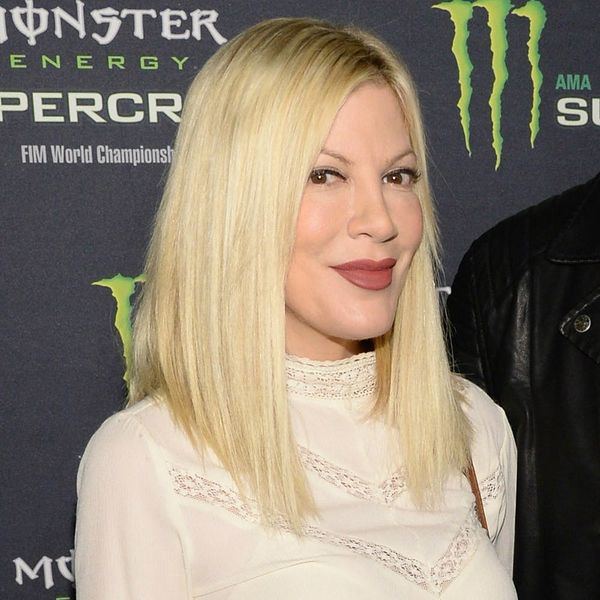You Won't Believe What Color Tori Spelling Dyed Her Hair After More Than 20 Years Blonde