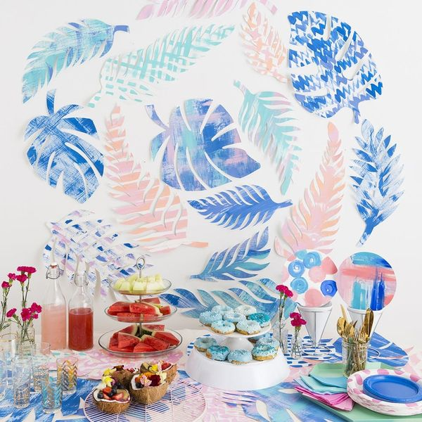 How to Throw a Tropical Themed Party Like a Grown Up