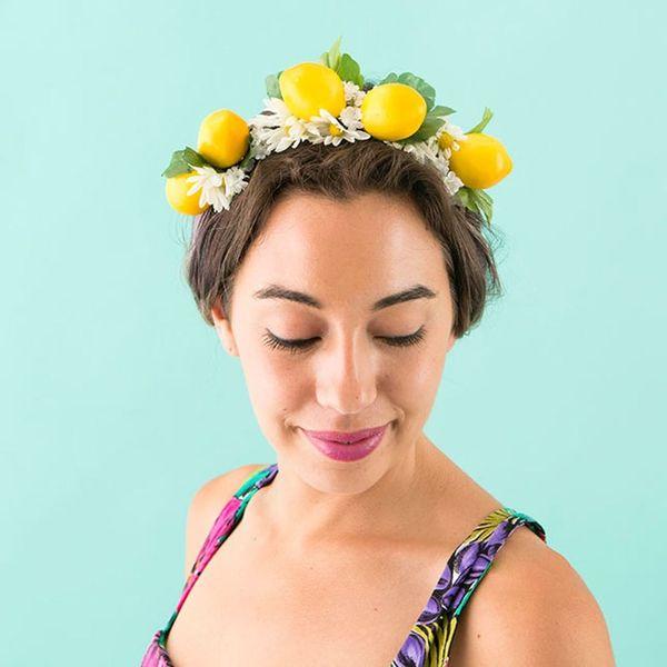 DIY Beyonce's Lemon Headband in Under Ten Minutes