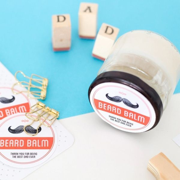 Surprise Your Bearded Dad With This DIY Beard Balm