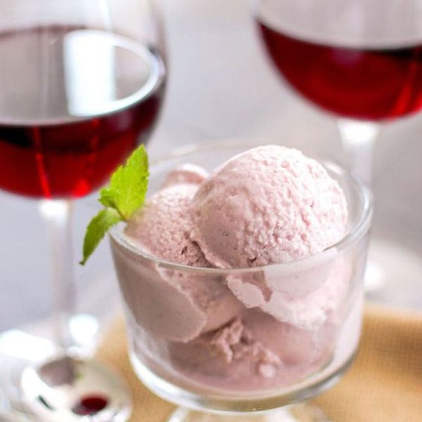 16 Wine Ice Cream Recipes You Need for National Wine Day