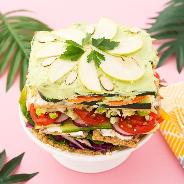 This Is Our Take on the Salad Cake