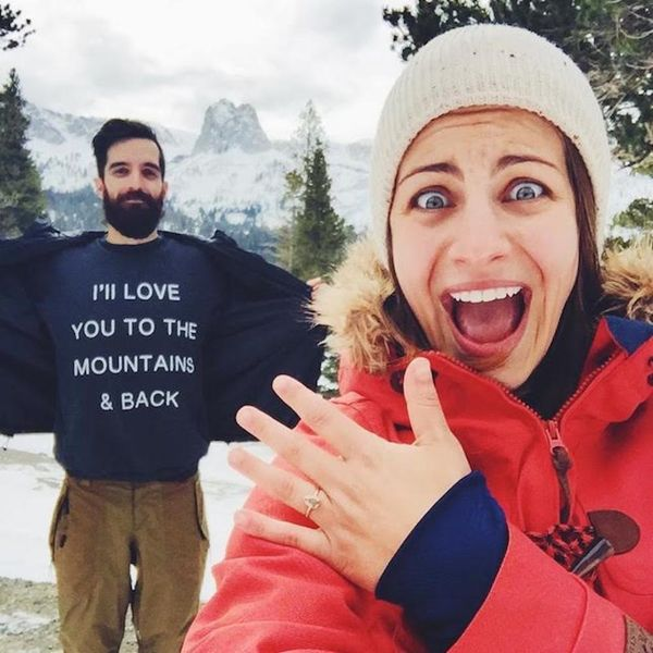 This Mammoth Proposal Story Will Give You *All* the Feels
