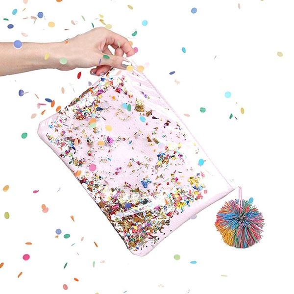 How to Make a Confetti Clutch to Complete Your New Year's Eve Look